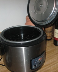 Krups rice cooker, steamer and slow cooker