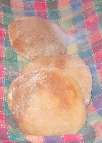 cooling pita bread