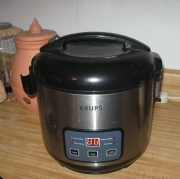 Krups rice cooker/slow cooker and steamer