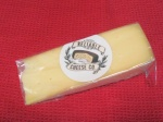 Wedge of raclette cheese