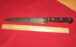 Carbon steel slicing knife