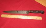 Carbon steel slicing knife