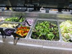 green on the salad bar