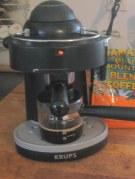 Krups home espresso machine with carafe