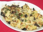 browned gratin of cauliflower