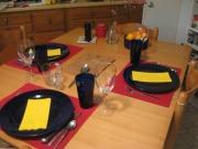 Pheasant dinner