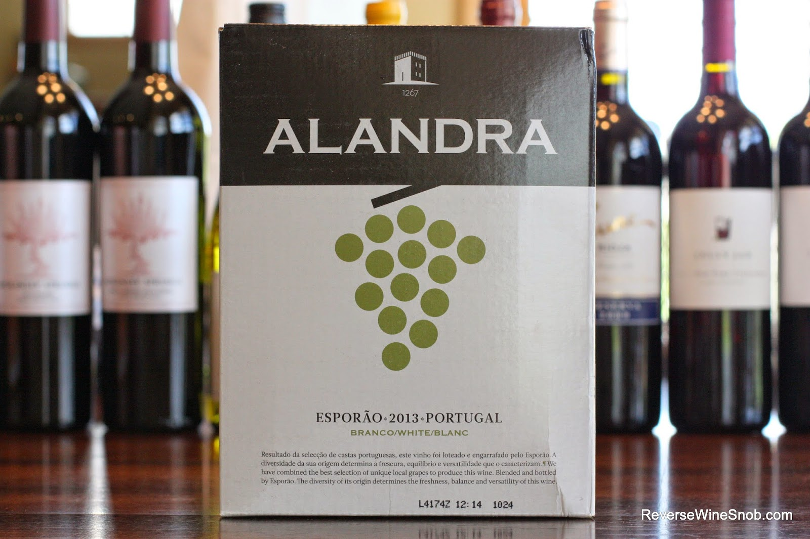 The Reverse Wine Snob: The Best Box Wines - Esporao Alandra White 2013