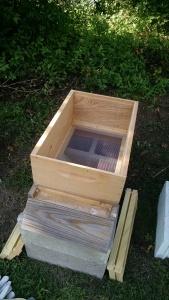 empty hive box