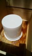white pail in medium super
