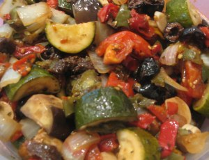 cooked ratatouille