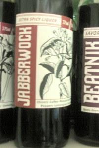 Jabberwok liqueur
