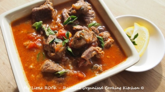 Greek Lamb Casserole