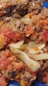cabbage casserole up close